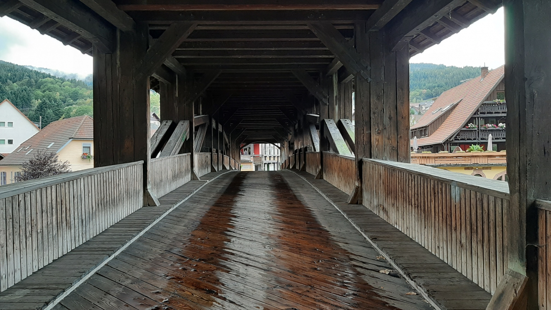 Forbach wooden bridge