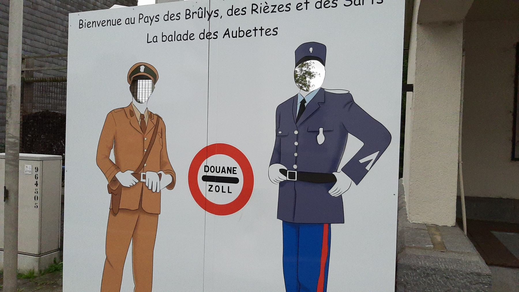 Belgium? France? papers please...
